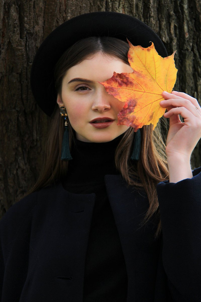 Iveta On Twitter Autumn Beauty Elina Portrait Couple