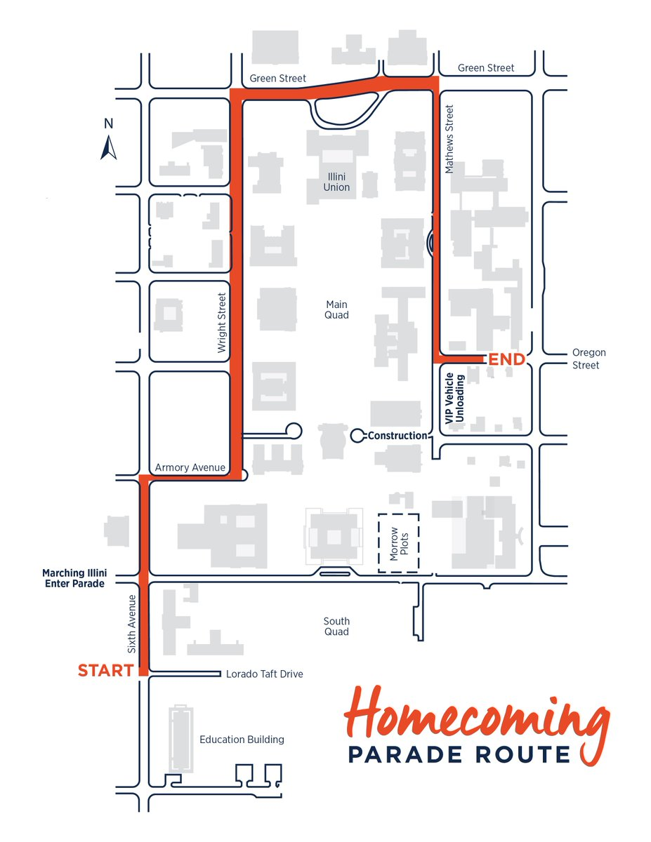 Illini Solar Car On Twitter Look For Argo In The Diagram Added Parade Route