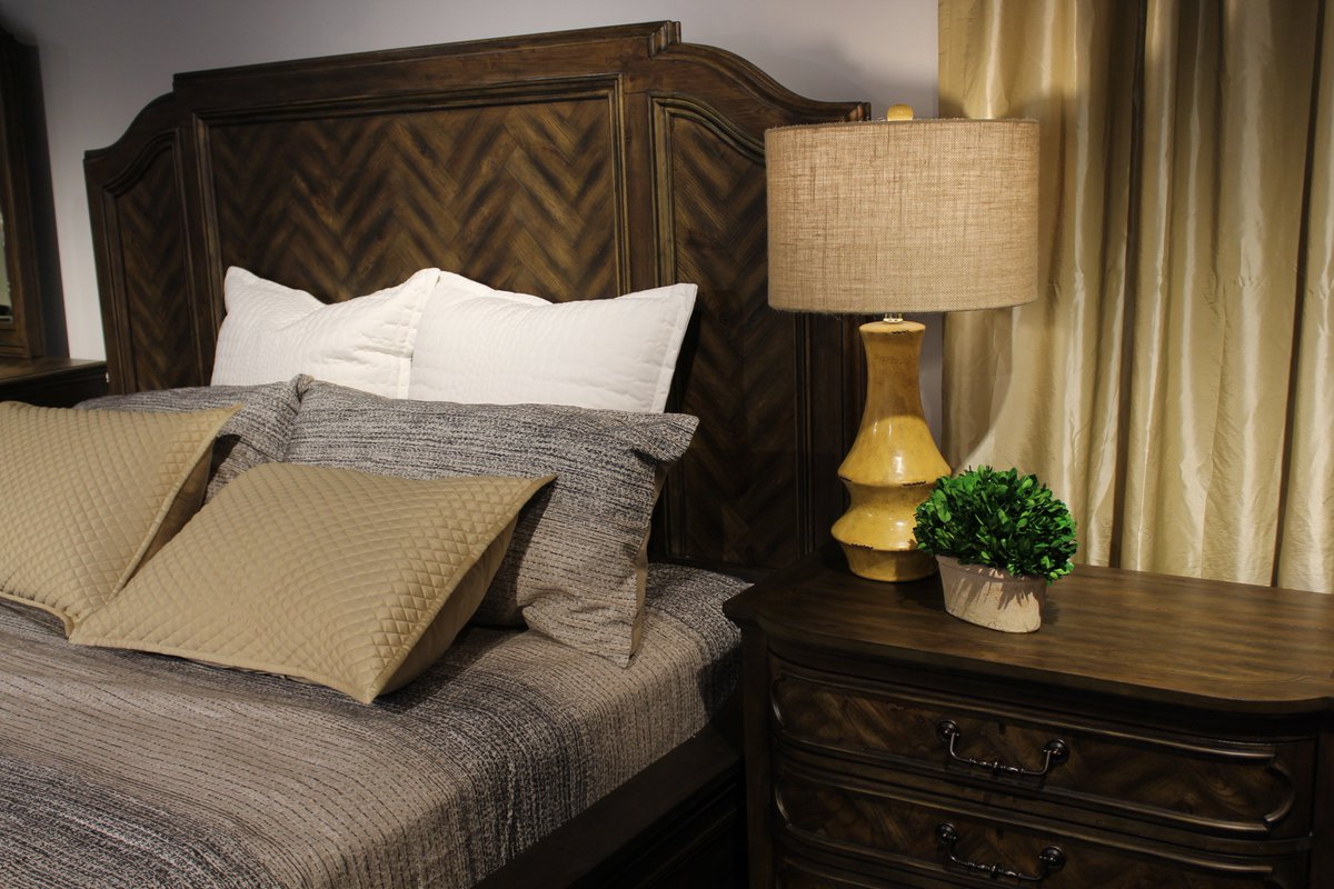 The Jefferson Market King Bed Features Stunning Arches That Frame The  Headboard And Footboard.