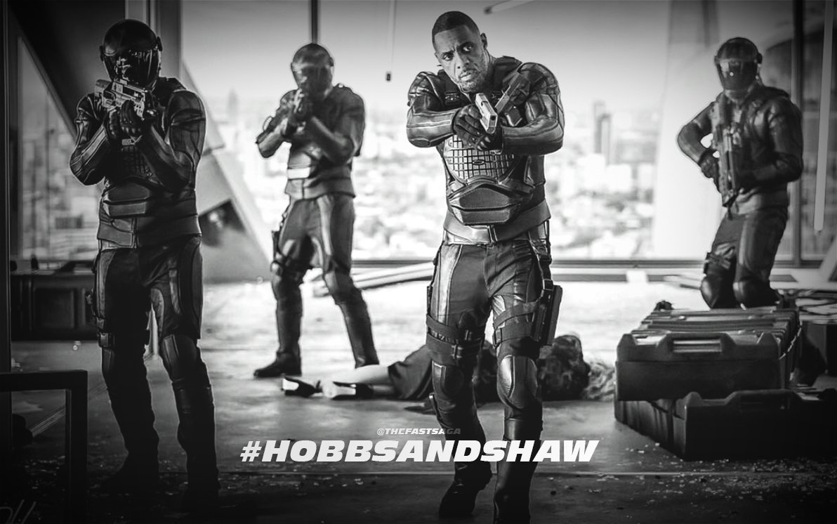 Here&#39;s your first look at @IdrisElba in the #HobbsAndShaw film, starring as the main villain named &quot;Brixton&quot;. @FastFurious<br>http://pic.twitter.com/279oAQ2MU1