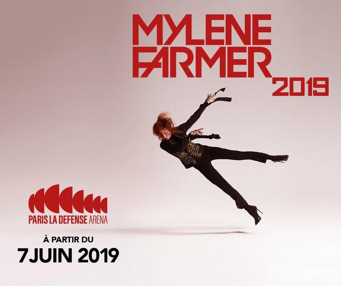 Ultime Désobéissance ❤ Réservez dès maintenant vos places pour les 6 shows de #MyleneFarmer2019 à @ParisLaDefArena 🎟 Photo