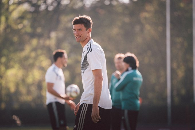 💬 @esmuellert_: We want to get all three points and put ourselves in a strong position in the group. #NEDGER #NationsLeague Foto