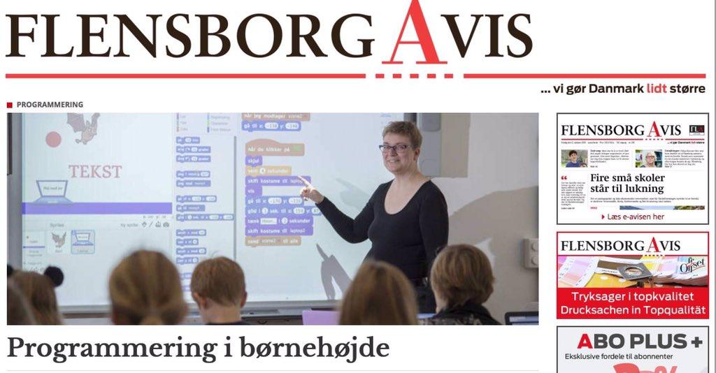 test Twitter Media - Danske børn i Sydslesvig har nu lært at kode tegnefilm, quiz og spil i 2 dage på #danskcentralbibliotekiflensborg sammen med #scratch og #scratchpaadansk og vi har fået en flot artikel på s. 2 i dagens avis #EUCodeWeek https://t.co/Hw5Zsqph0Y