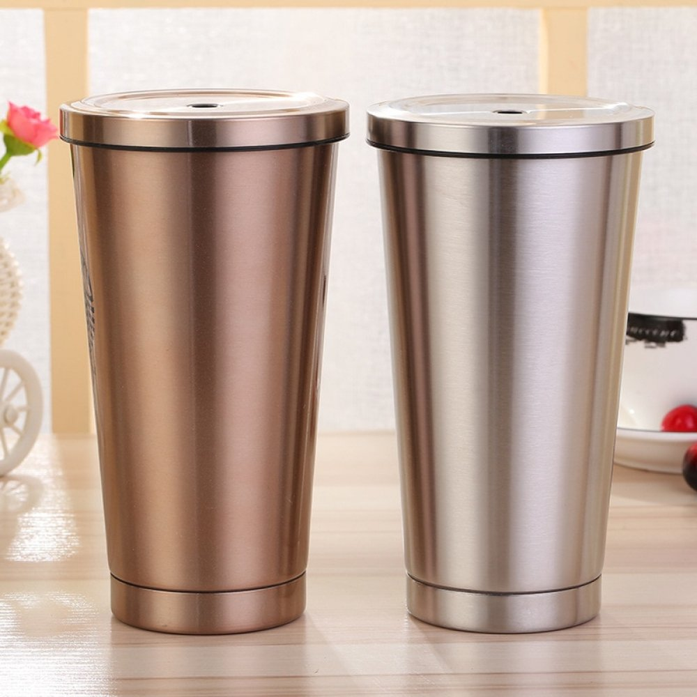 aNewify Store on Twitter: #nature Insulated Stainless Steel Smoothie Thermos Cup With Straw…