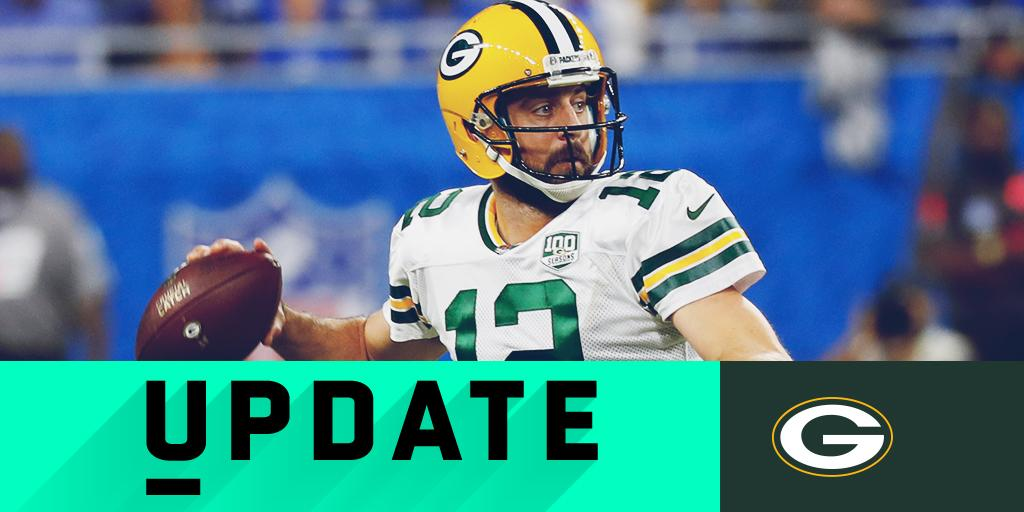 Aaron Rodgers dealing with knee rehab 'setback' https://t.co/PrjsqCsyed https://t.co/qhPsRPg2PK