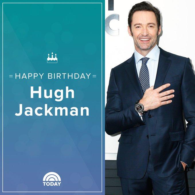 Happy 50th birthday, Hugh Jackman!
