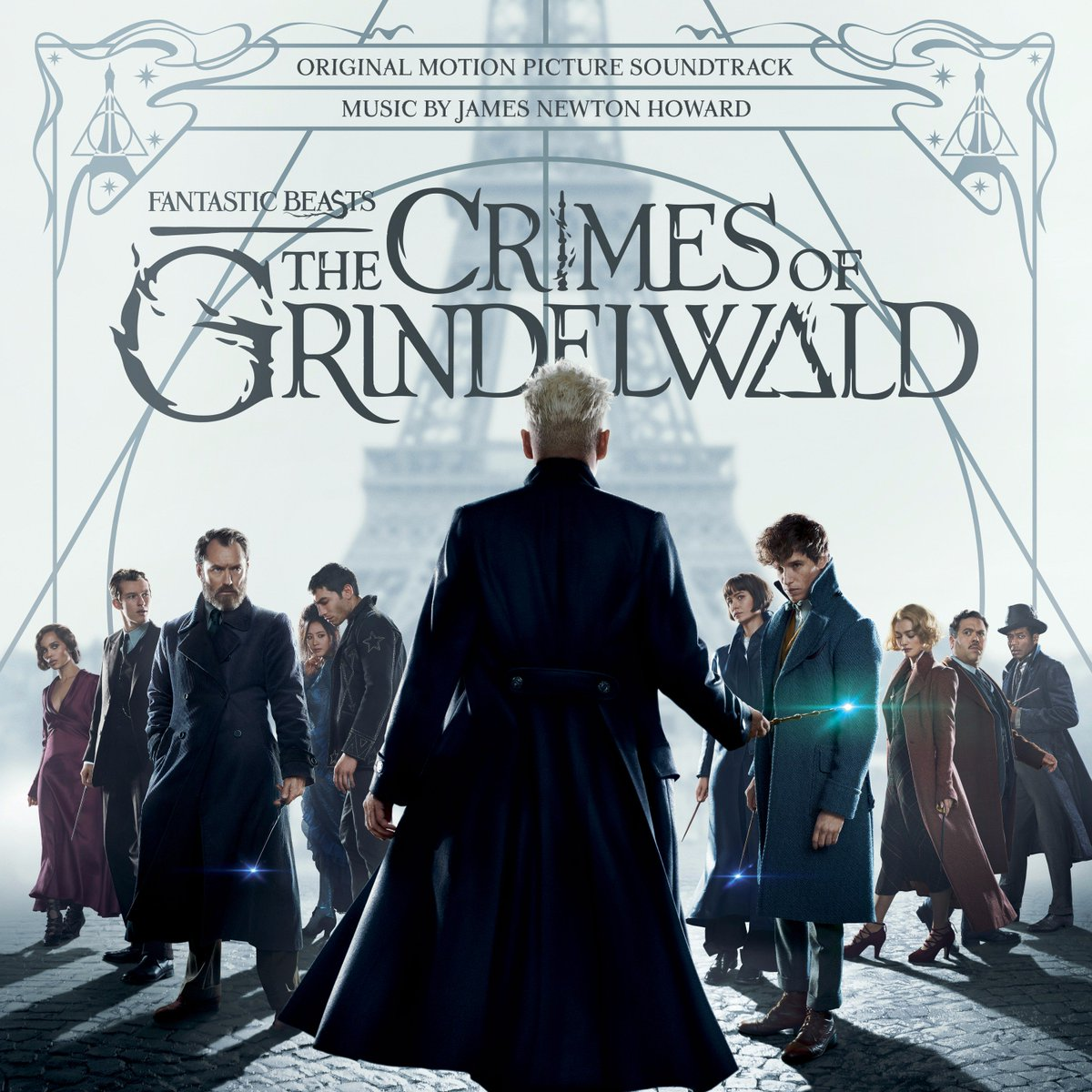 !! #NewMusicFriday! Two tracks from the #FantasticBeasts : The Crimes of Grindelwald soundtrack by #JamesNewtonHoward are avail. now!  Check em out and let us know which is your favorite.  https:// lnk.to/fantasticbeast s2FA &nbsp; … <br>http://pic.twitter.com/9Eyv2uV4Ru