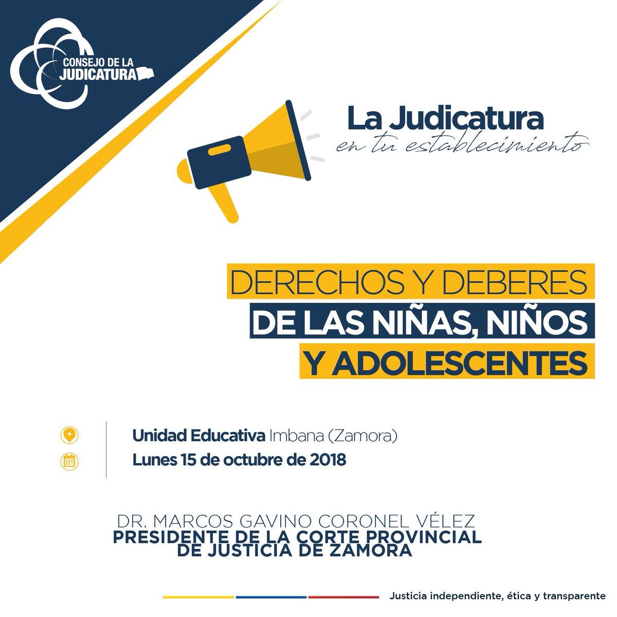 Consejo Judicatura (@CJudicaturaEc) | Twitter