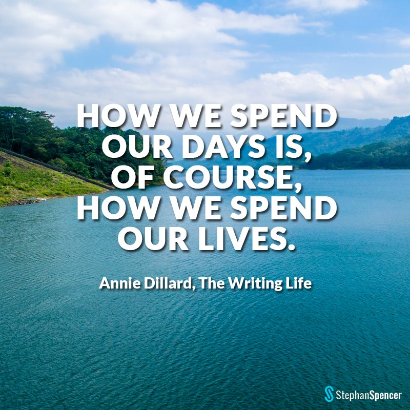 Our day to day habits pave the way for our future.