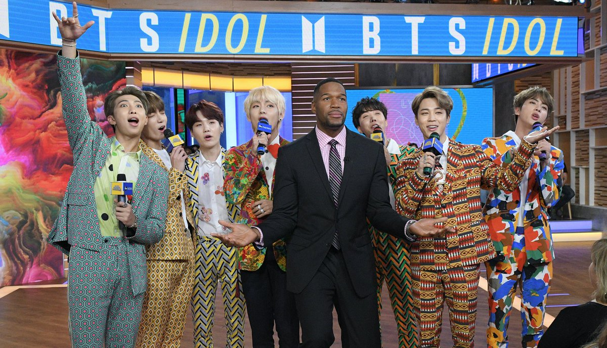 Wishing #Jimin a very happy and HEALTHY birthday! #HappyJiminDay #GetWellSoonJimin   AND we're wishing a get well soon also to #JUNGKOOK! We miss all you guys!  #BTS  onGMA#BTSonGMA