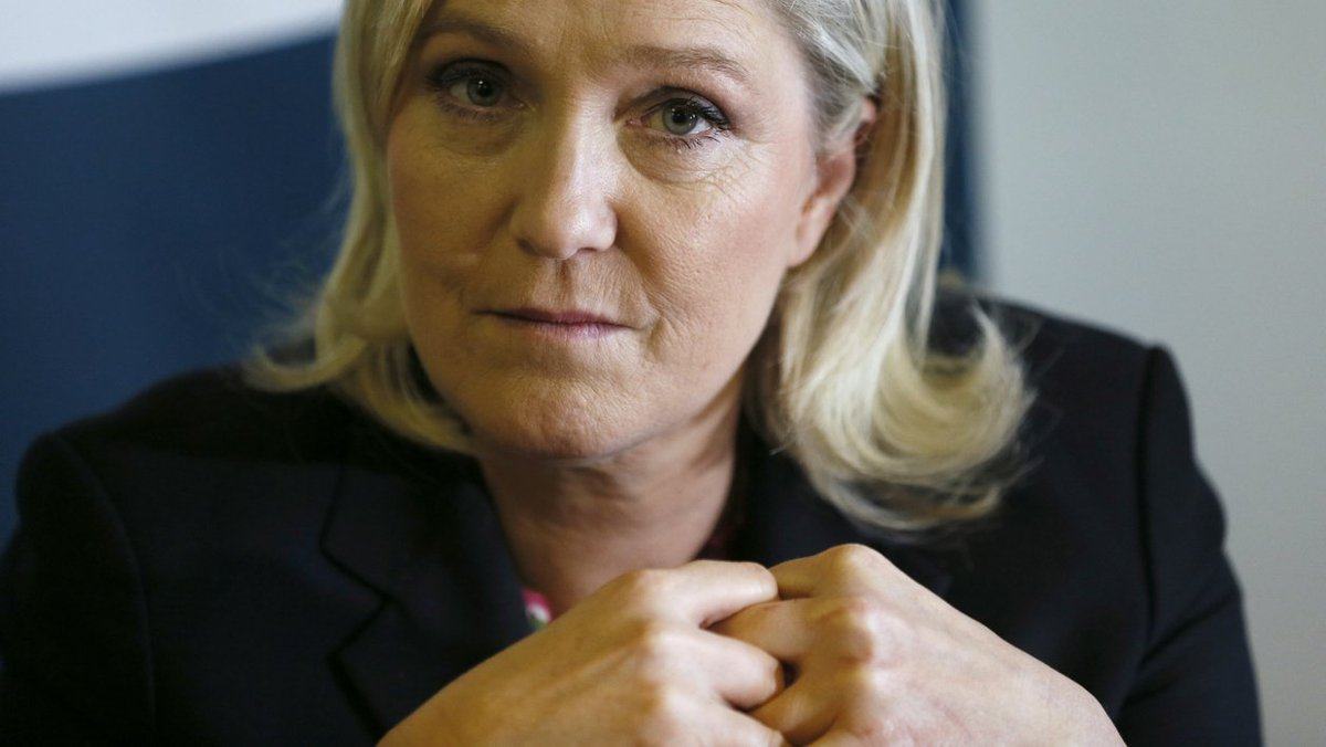 BFMTV's photo on Marine Le Pen