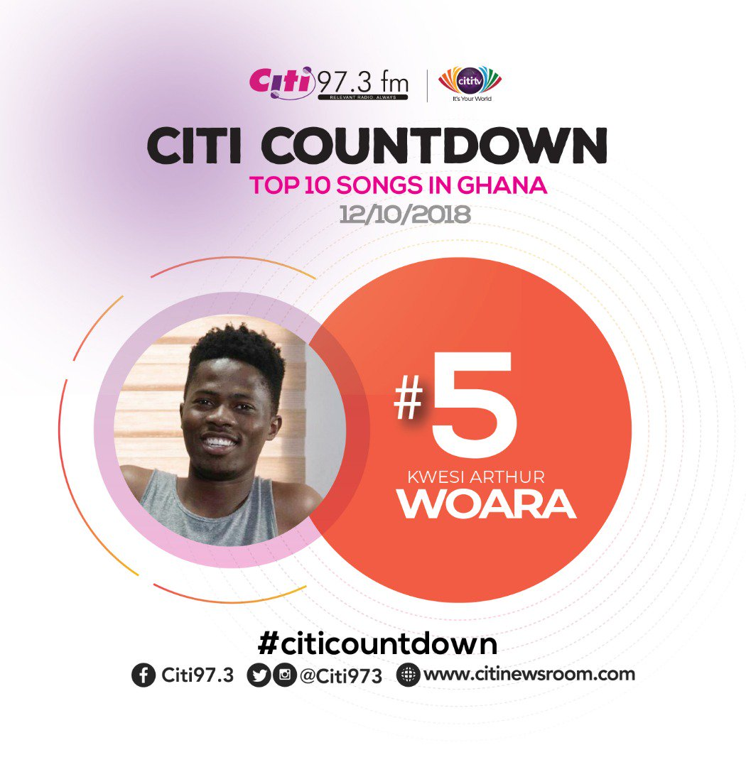 "CitiNewsroom on Twitter: ""At the head of the flock again is @sarkodie with Can't  let you go. He features @IamKingPromise #CitiCountdown #TrafficAvenue… ..."