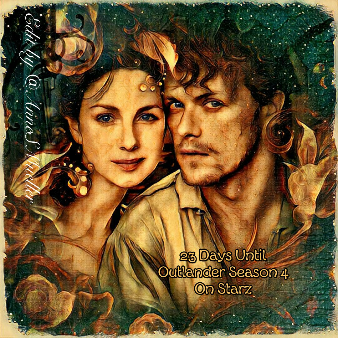 I&#39;m at the gym right now, taking a short break, but I have time now to post today&#39;s countdown.  Only 23 days until #OutlanderS4 on Starz! Pls remember to vote #Outlander for #TheBingeworthyShow in the #PCAs!     @SamHeughan @caitrionambalfe @OutlanderHQ @ana_cfmonteiro<br>http://pic.twitter.com/bccMqA2YDm