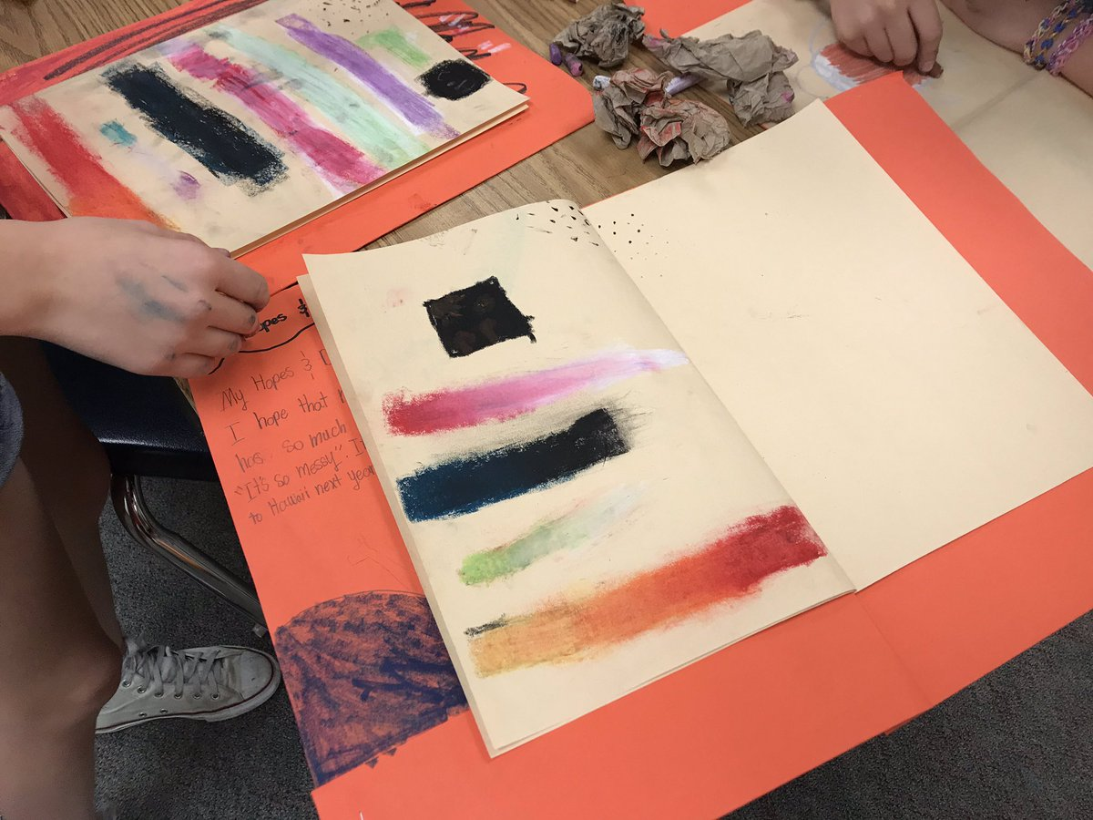 Last week we explored and practiced different oil pastel techniques in our sketchbooks, this week we are combining oil pastel and marker to create a final art piece 🤗 <a target='_blank' href='http://search.twitter.com/search?q=apsarts'><a target='_blank' href='https://twitter.com/hashtag/apsarts?src=hash'>#apsarts</a></a> <a target='_blank' href='http://search.twitter.com/search?q=APSisawesome'><a target='_blank' href='https://twitter.com/hashtag/APSisawesome?src=hash'>#APSisawesome</a></a> <a target='_blank' href='https://t.co/sQz153h3wt'>https://t.co/sQz153h3wt</a>