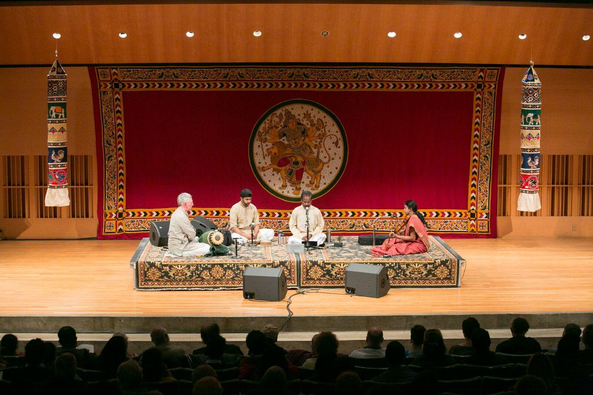 test Twitter Media - Join us tomorrow, 10/13 @ 8pm in Crowell Concert Hall as Indian singer Gayathri Venkataraghavan performs with violinist Mysore Srikanth and B.Sivaraman on mridangam as part of the 42nd annual #Navaratri Festival! All are welcome! Tickets: https://t.co/yjxKOdm3bj https://t.co/3jyPp4rub4