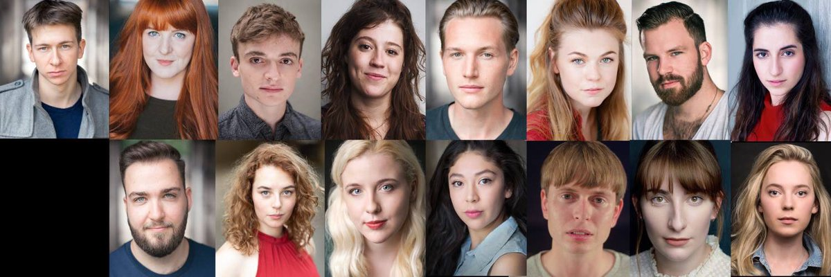 Look at my beautiful cast for the Autumn season! You can book tickets for our show Too Clever By Half here... …  Also you can check out the fun we get up to in the rehearsal room by giving @TooCleverRBC a quick follow!