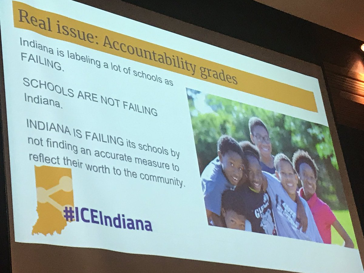 """@TamaraSkinner """"I work at an F school. I'm not an F teacher, and I don't teach F students!"""" Indiana is failing its schools... #ICEIndiana #Education #INeLearn #EdTech<br>http://pic.twitter.com/IQIBfHi0nZ"""