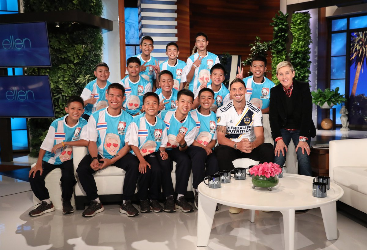 There was no story more captivating this summer than the Thai soccer team trapped in a cave. This Monday, they're all here.