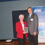 Image for the Tweet beginning: IWEST Board member, Norma Classen,