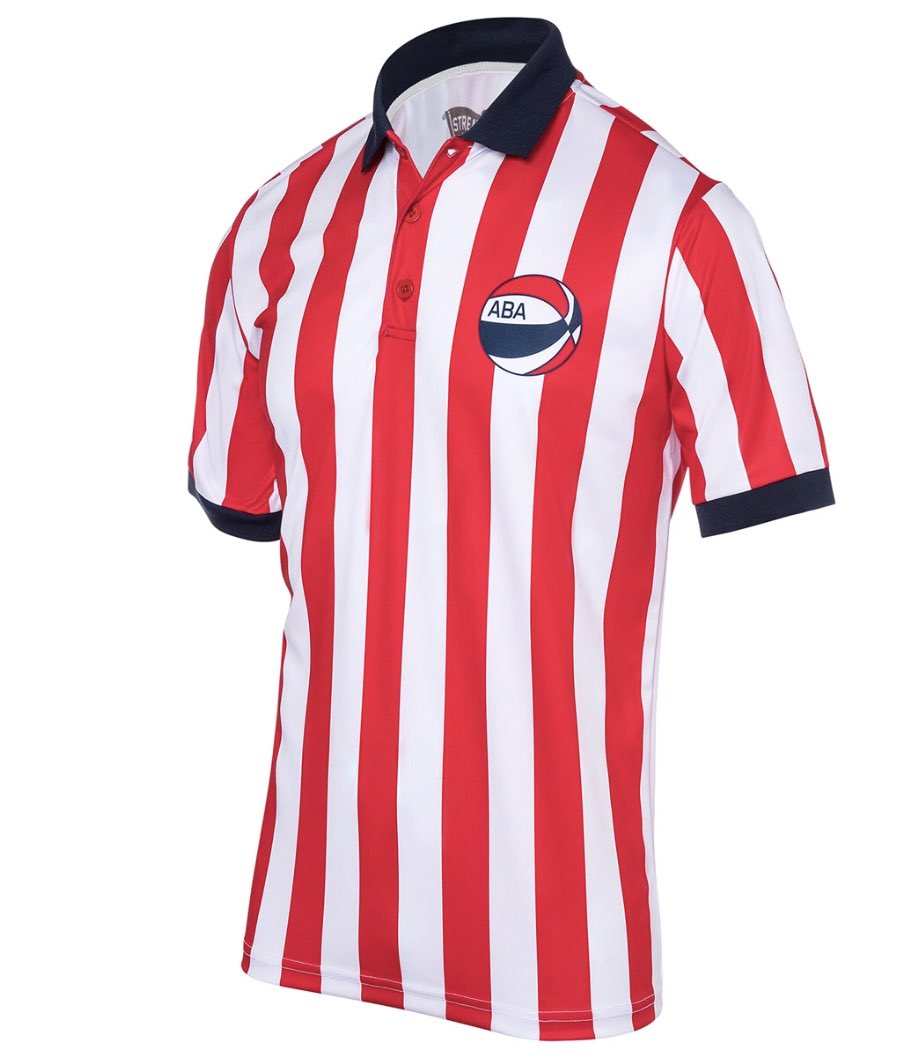 buy online 7aeba 1f600 guys streakersports selling retro ABA referee shirts ...