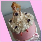 #barbie themed cake Contact 0773799023