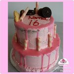 Happy 16th, #Choc_mint with a hint of strawberry cake
