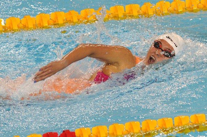 ¡Delfina Pignatiello ganó su segunda medalla de plata en #BuenosAires2018! La deportista tuvo otra jornada espectacular y sumó la novena medalla para #Argentina. Foto: Prensa COA Foto