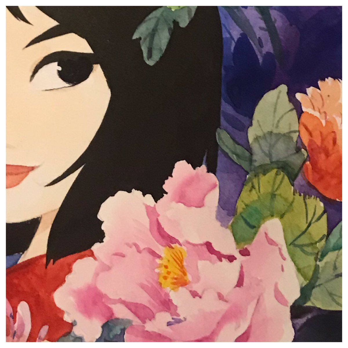 Peek at my Mulan piece for @gallerynucleus Mulan tribute show. <br>http://pic.twitter.com/I9PuzwyZwB