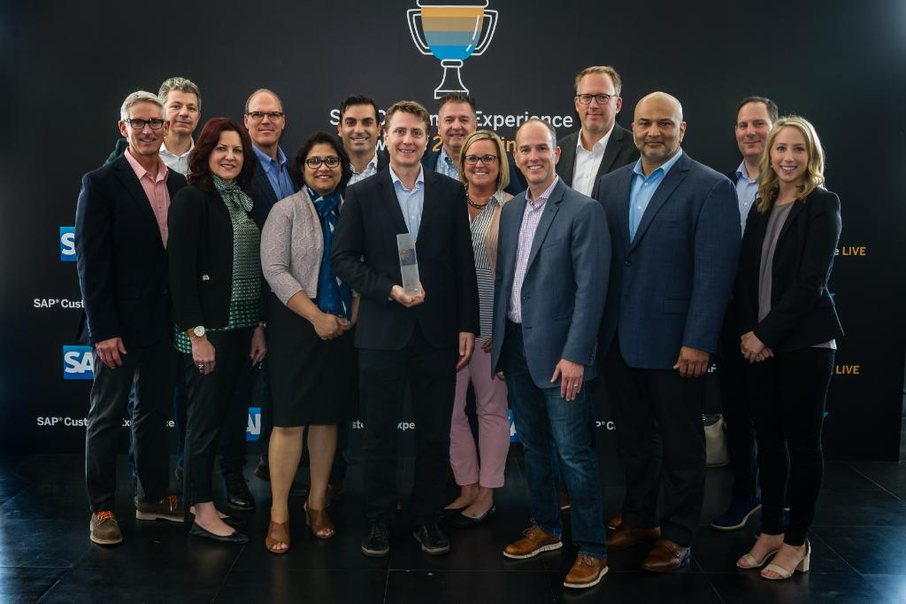 Congrats to our Deloitte Digital team for receiving the SAP Customer Experience Global Partner of the Year award at this year&#39;s #SAPCXLive!  Well done, @DeloitteSAP!<br>http://pic.twitter.com/PGZH9R0acs