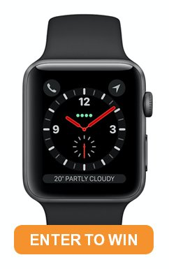 Enter the draw to win an Apple Watch!