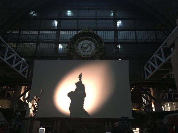 Public qui retient son souffle @MuseeOrsay #PicassoBleuRose #PicassoCircus Photo
