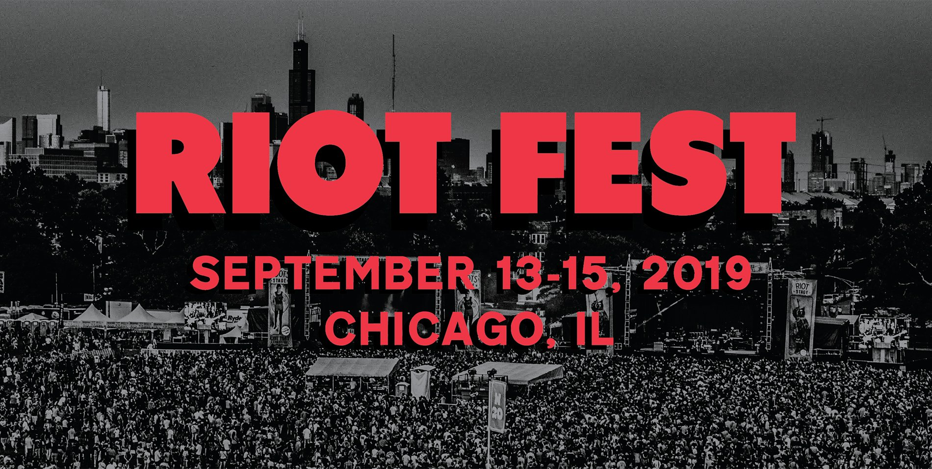 336 days until Riot Fest. Who do you want to see on the lineup next year? https://t.co/ElZ0I56J1z