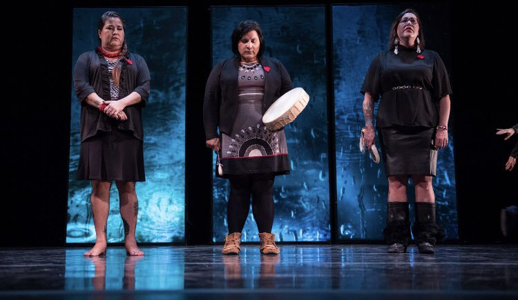 """Red Shawl Campaign Ballet  """"Ghosts of Violence""""  Happening Wednesday October 17 at 6:30  at the Fredericton Playhouse <br>http://pic.twitter.com/TrgwZcllD8"""