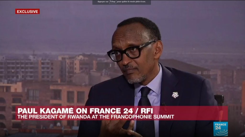 THE INTERVIEW - Rwanda's Kagame: Macron has brought 'freshness' to world politics https://t.co/JFvxMfKI8y https://t.co/G3mWRCcpml