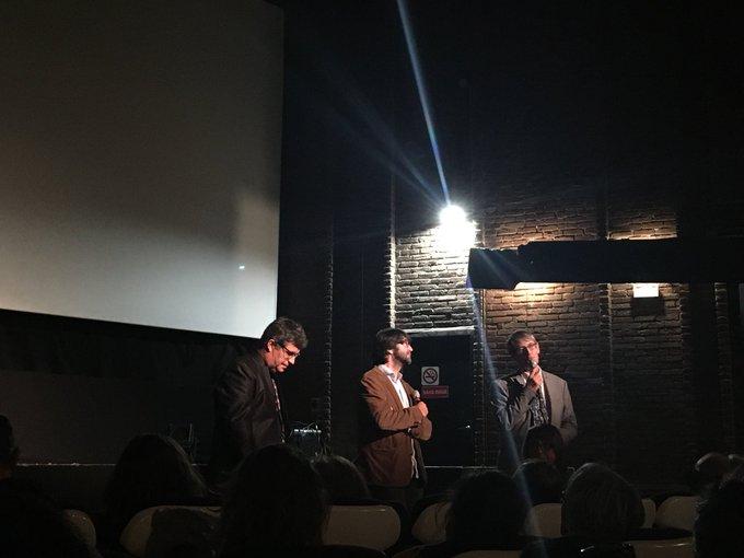 Antoine de Baecque et Pierre Schoeller introduisent «Un peuple et son roi» #RVH2018 ..... je vais enfin voir ce film, @Aurore_Chery :) Photo