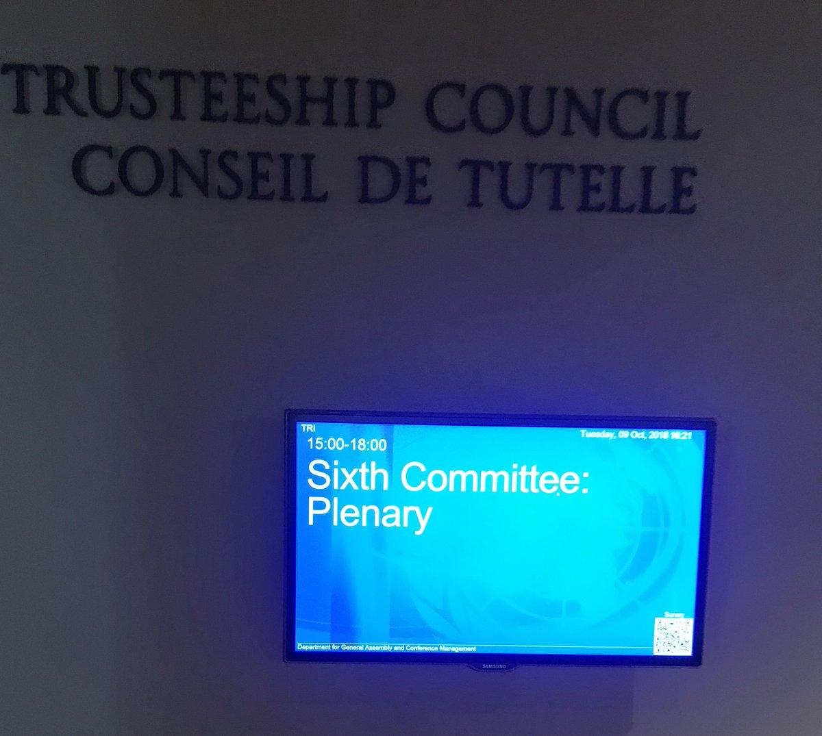 un sixth committee