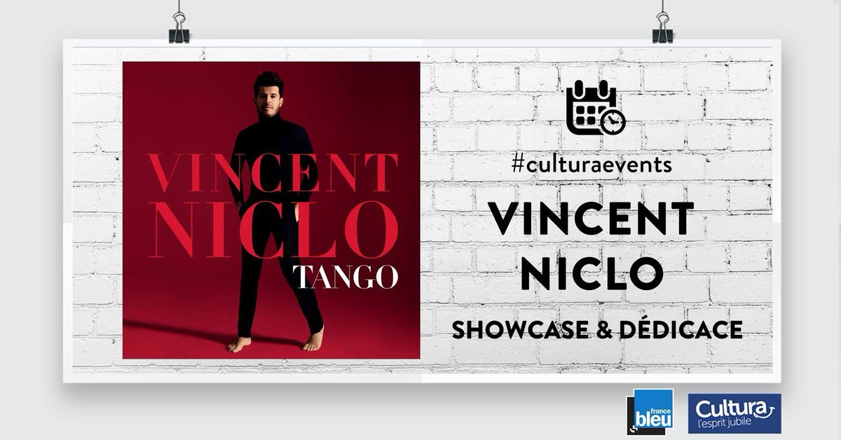 Allez demain direction Marseille  @Cultura #showcase @vincentniclo youhouuuu   - FestivalFocus