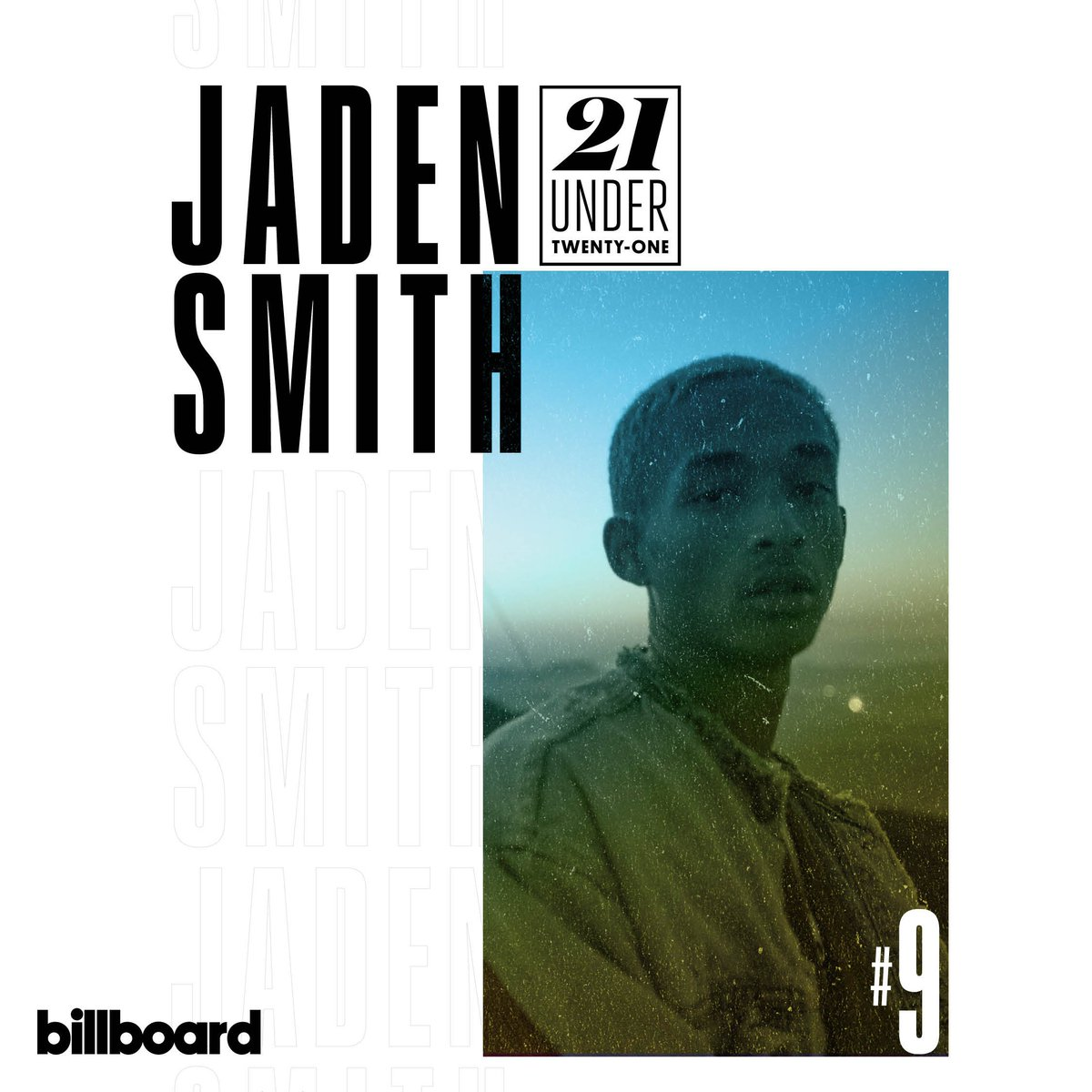 #21Under21 No. 9 @officialjaden Age: 20 Total Streams: 422.7M blbrd.cm/UsooYx