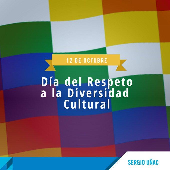 Respetar la #DiversidadCultural es construir un futuro mejor para todos, donde se promueva el diálogo, el respeto y la igualdad de derechos Foto