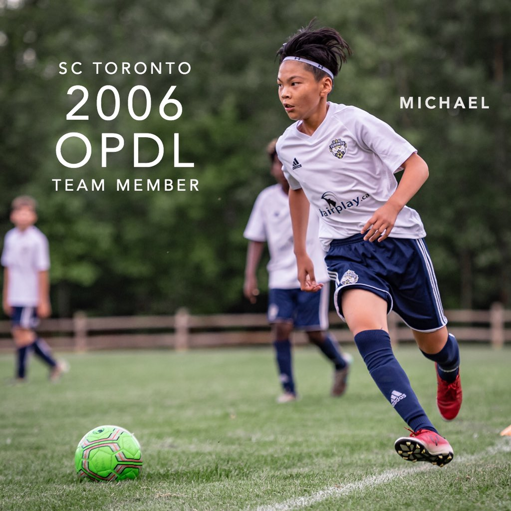 Congratulations Michael for earning a spot on the 2006 SC Toronto OPDL Team #SupportLocalFootball #Toronto #2006Boys  #SCToronto #TorontoSoccer #SoccerInTheSix #OPDL #OntarioSoccer #PlayInspireUnite #Football #Soccer #Canada2026 #TheBeautifulGame  Tryouts ongoing. DM for details