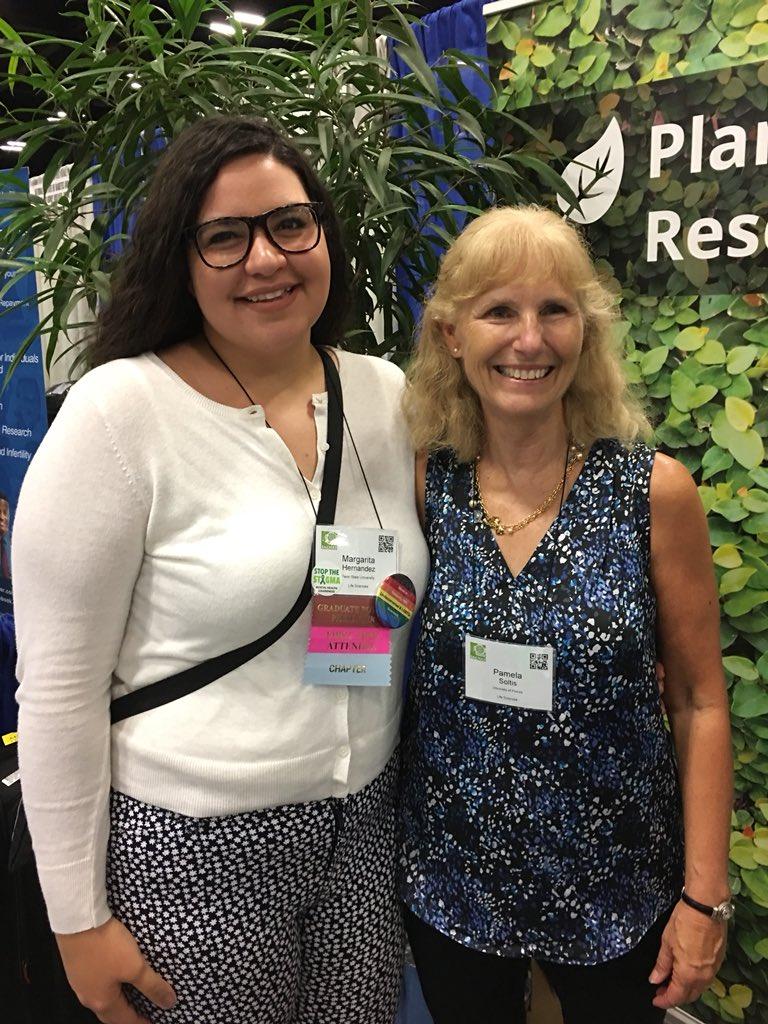 Who knew I'd run into my rockstar undergrad advisor Dr. Pam Soltis @soltislab during #SACNAS2018? So many wonderful memories of mentorship and research with this lab! Thank you for paving the way for my success through encouragement and opportunities! <br>http://pic.twitter.com/DgbKXxYau0