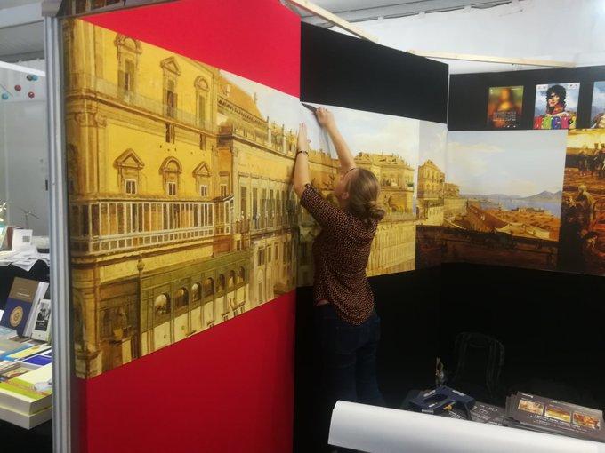 [#RVH2018] ... demain, ce sera un tout nouveau stand thématique : Naples ! Photo