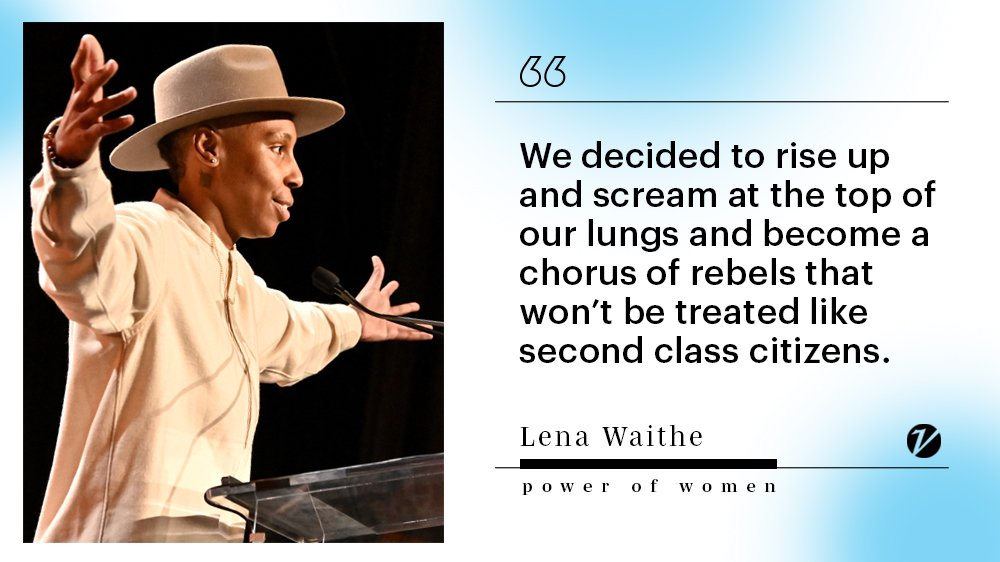 .@LenaWaithe: 'Luckily, we have refused to be victims. Luckily, we've refused to be silent' https://t.co/ua1RDGvn8H https://t.co/gm8k2JIJD3