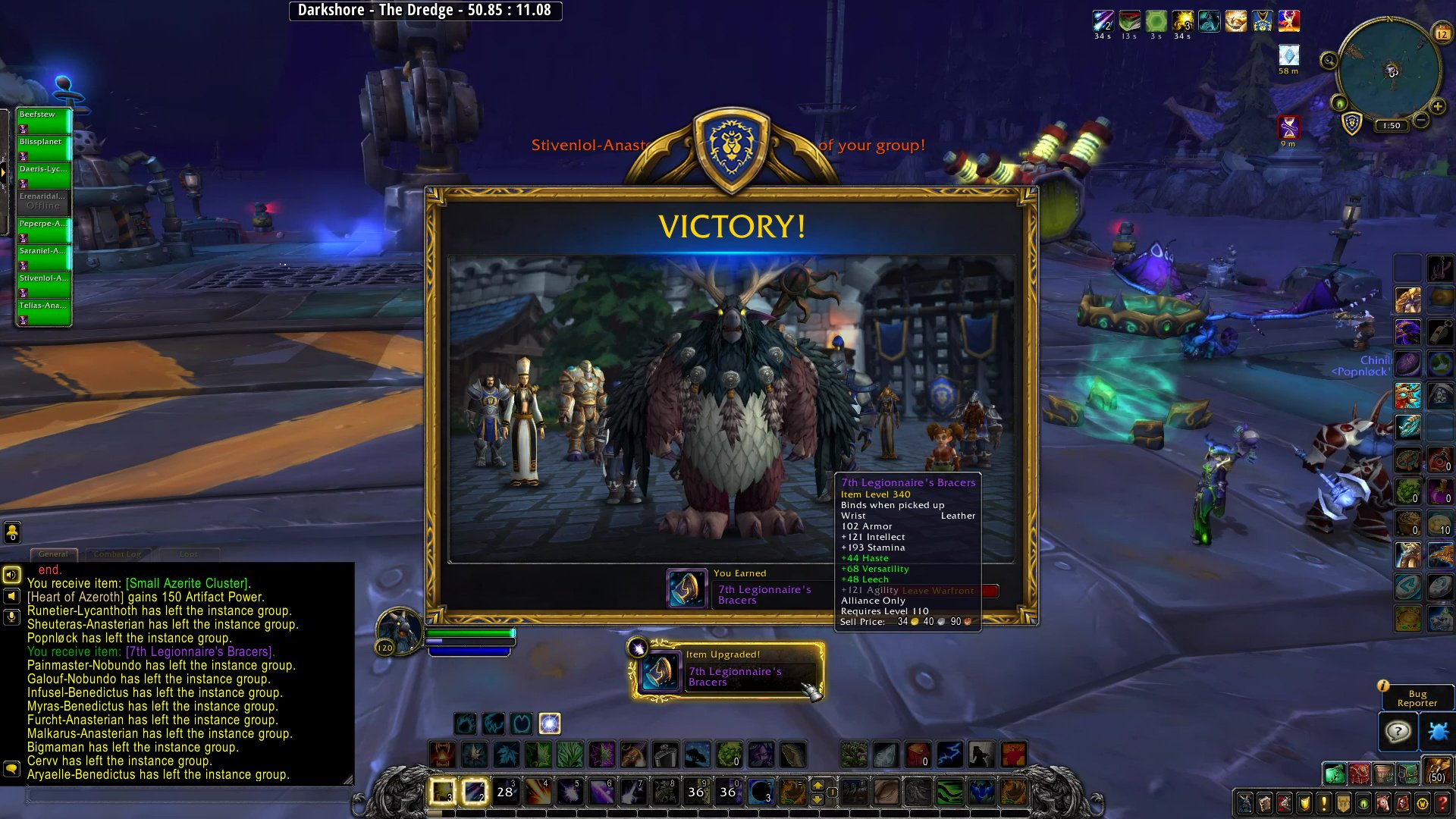 Blizzplanet Twitter My Third Run I Just Finished Play With The Blues Warfront Darkshore It Took 34 Minutes To Beat Sira Moonwarden And Her Troops