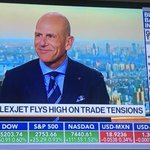 """Flexjet CEO Michael Silvestro on @BloombergTV""""International travel is up 23% year over year.""""  https://t.co/QRsT8W9TdP @markets"""