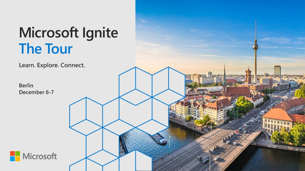 MSIgnite The Tour Berlin