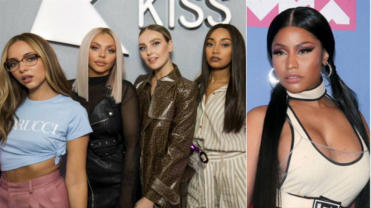 Has anyone else had @LittleMix and @NICKIMINAJ's #WomanLikeMe on repeat???? https://t.co/Bqbz3wh8iO