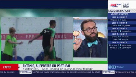 Antonio, supporter du Portugal et fan de l\