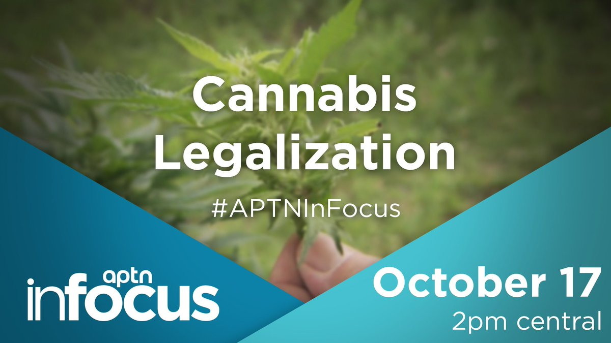 Do you agree with the #legalization of pot? Why or why not? #APTNInFocus