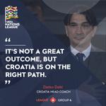 ✅ Head coach's verdict  #BeProud #Croatia #NationsLeague #Vatreni🔥
